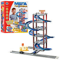 Детский игровой гараж (6 уровней парковки,2 машинки) (В 922 - 4)
