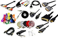 05-00 Шнури аудио-відео, живлення, патч-корди, HDMI