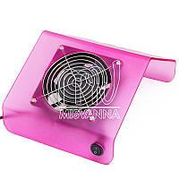 Настольная вытяжка (пылесборник) JN276 на 30 Вт для маникюра (pink)
