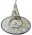 Шляпа Колпак капроновая (черная с золотом), фото 4