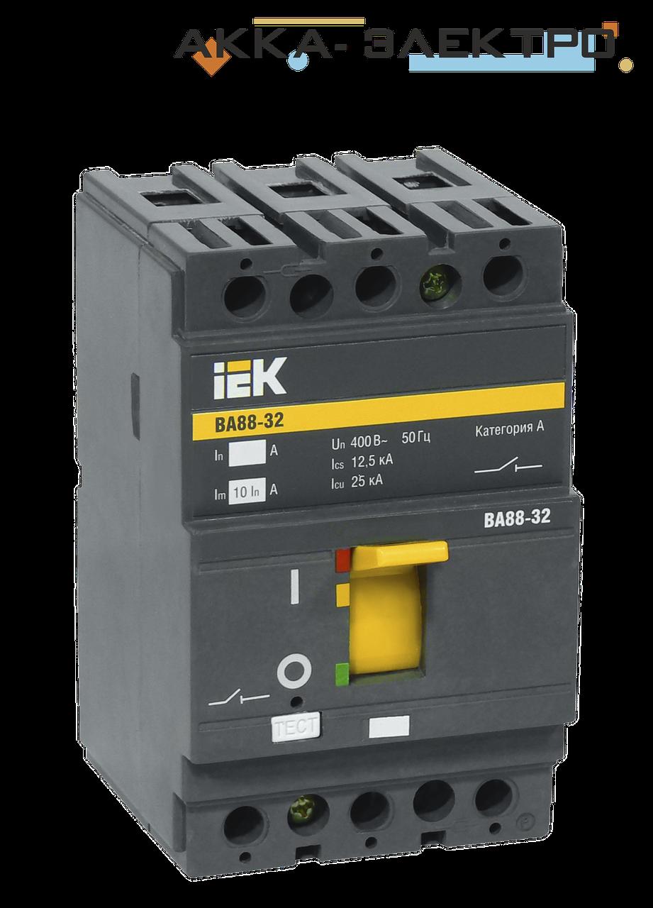 Автоматический выключатель ВА88-32 3P 80A  IEK