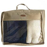 Большая дорожная сумка для вещей, бежевый