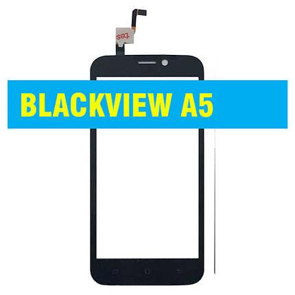 Cенсорный экран BLACKVIEW  A5 BLACK, фото 2