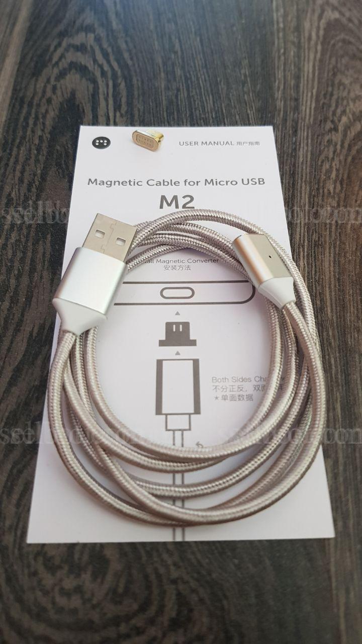 Магнітний кабель Moizen M2 Micro USB Магнитный (Android сable)