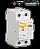 Дифференциальный автоматический выключатель АВДТ32 25А 30мА IEK
