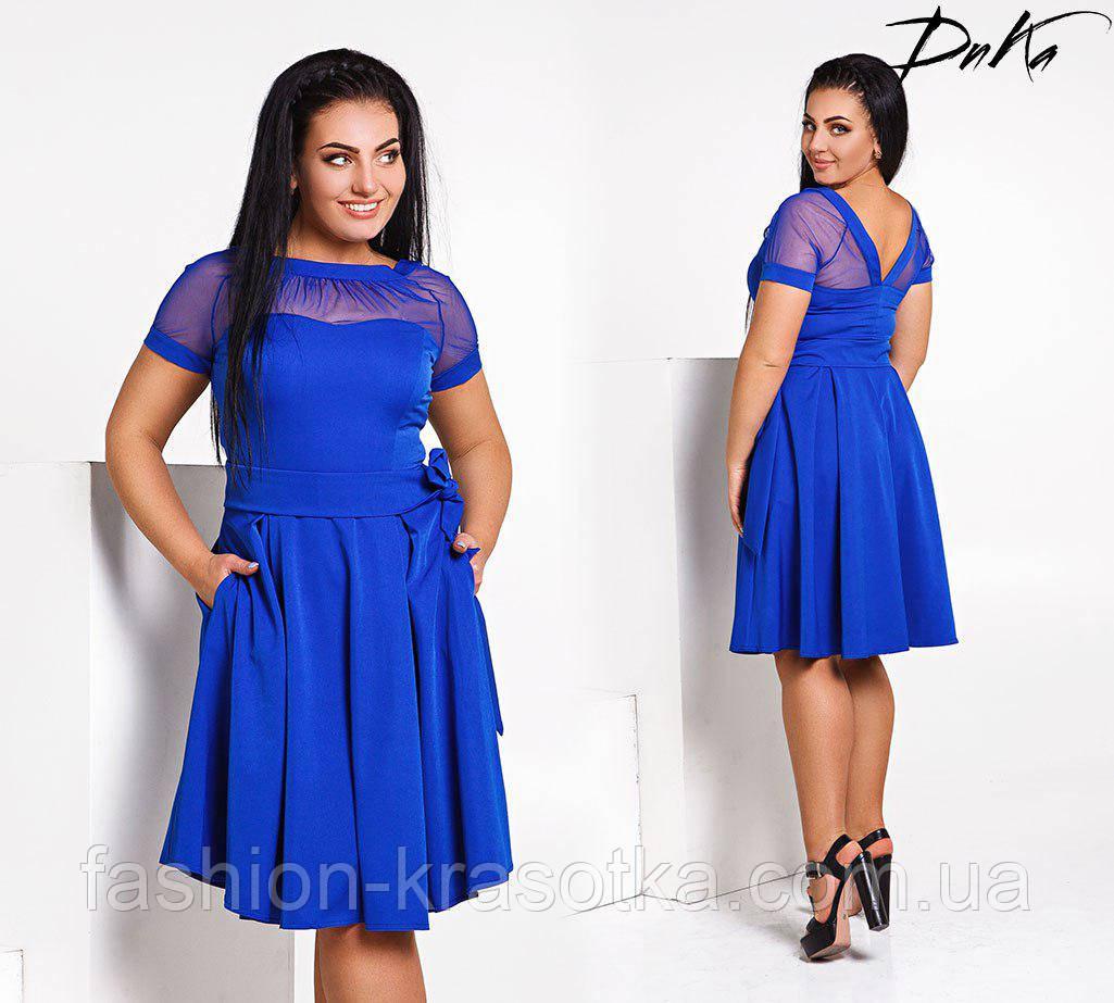 Модное женское платье в размерах 42-52