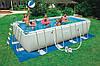 Внимание! Бассейны каркасные Intex 54482 549 х 274 х 132 см. + песочная помпа для супер очистки воды в бассейн