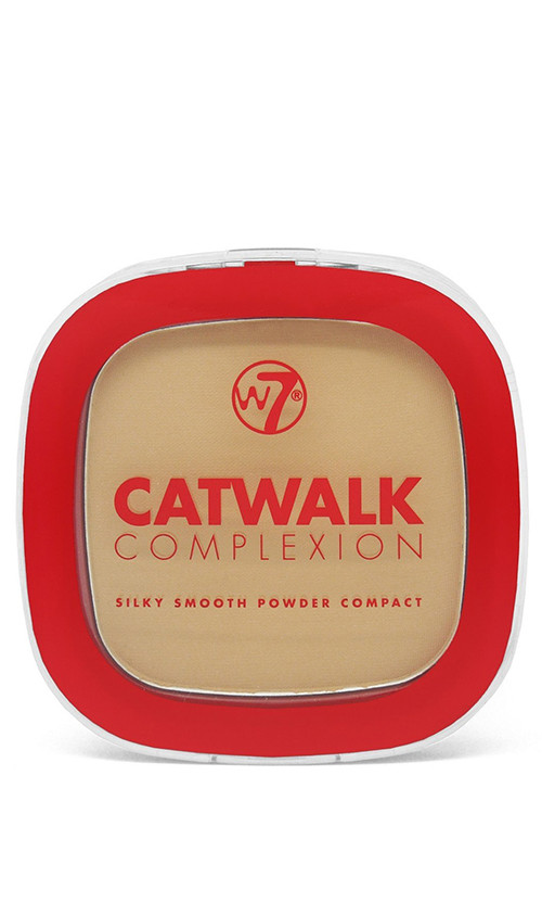 W7 Catwalk Complexion Compact Powder Компактна пудра Medium Beige