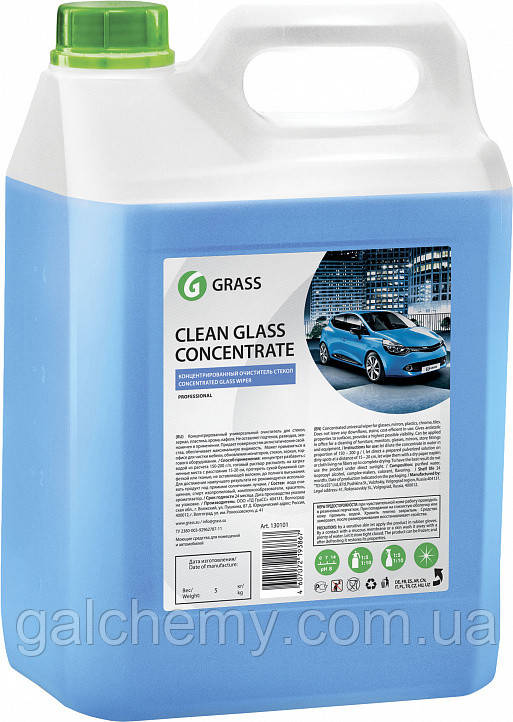 Очиститель стекол Clean Glass Concentrate 5kg Grass TM