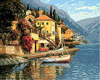 Картина по номерам 40х50 Город в горах (GX3240), фото 1