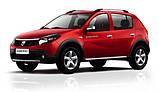 Авточехлы Renault Sandero 2007-2012 (з/сп. цельная) EMC Elegant, фото 10