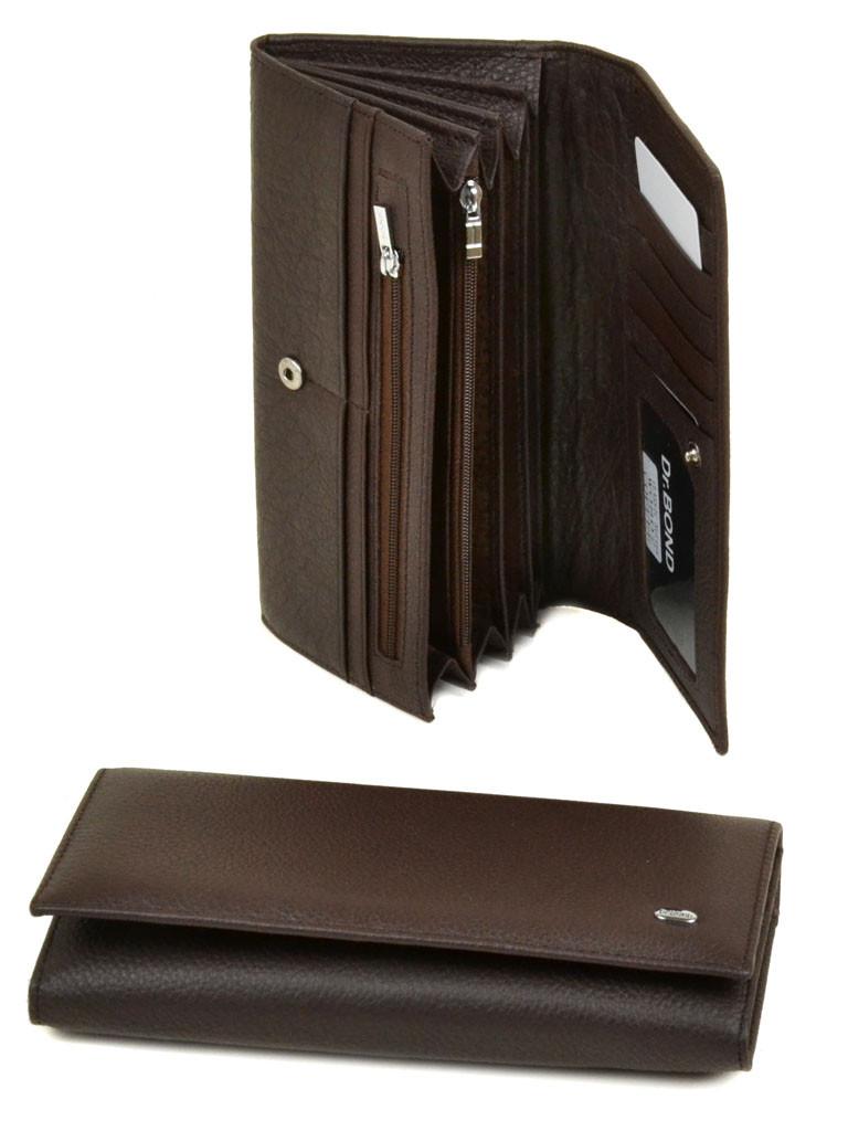8515b15bcd5f Кошелек Classik кожа DR. BOND W0807 coffee, цена 359,56 грн., купить ...