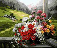 Картина по номерам 40х50 Горный букет (GX9500), фото 1
