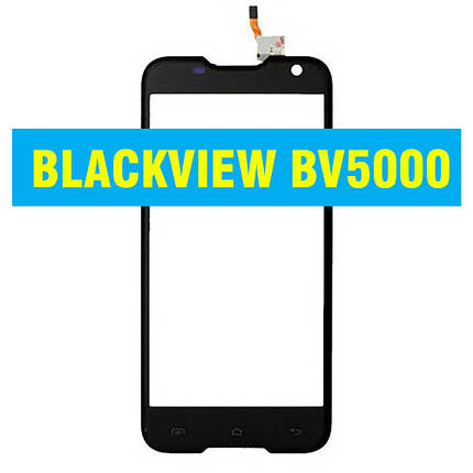 Сенсорний екран BLACKVIEW BV5000 BLACK, фото 2