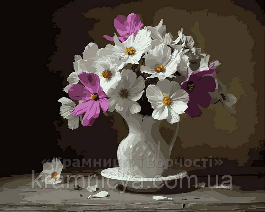 Картина по номерам 40х50 Милый букет (GX3761)