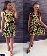Платье S-6749 (42, 44, 46)