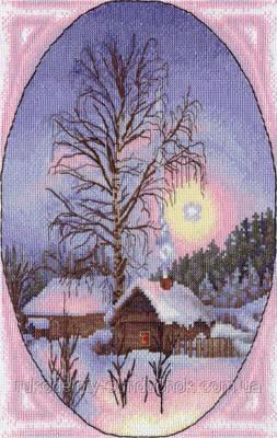 Набор для вышивания крестом Panna PS-0841 Зимушка