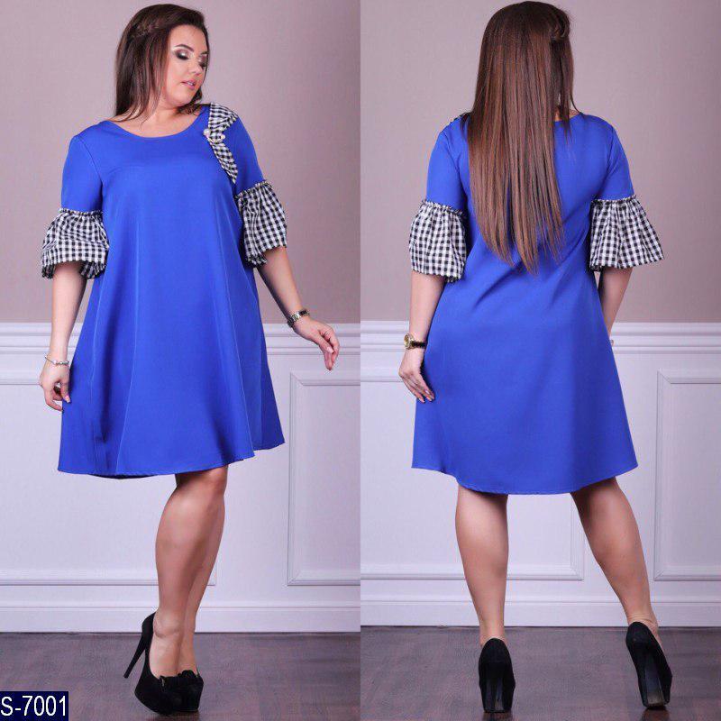e340ee1e97f Женское красивое стильное летнее платье (большие размеры)  продажа ...