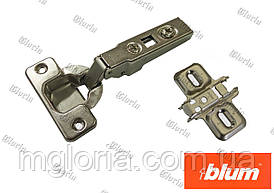 Петля Blum Clip без пружини накладна 70M2550