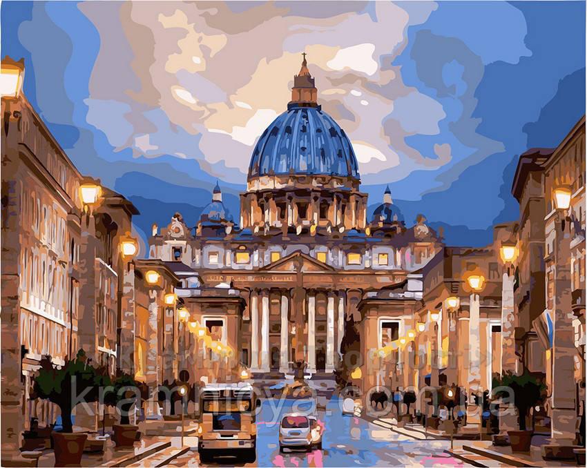 Картина по номерам 40х50 Собор Святого Петра (GX21612)