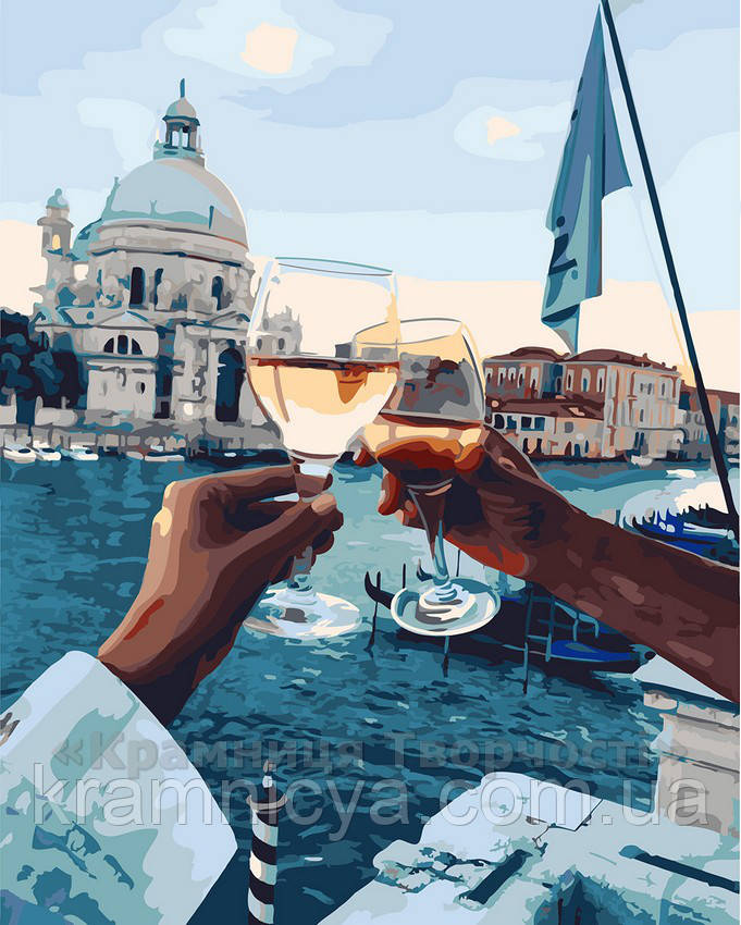 Картина по номерам 40х50 Романтика Венеции (GX21611)