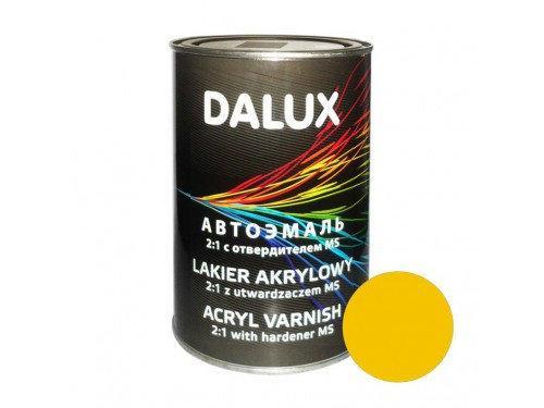 Автокраска акриловая 1035 Желтая DALUX 2K, 1л без отвердителя