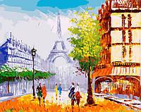 Картина по номерам 40х50 Весенний Париж (GX23521), фото 1
