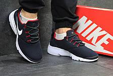 Модные кроссовки Nike Air Presto Fly Uncaged темно синие с белым 44р, фото 3