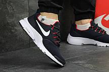 Модные кроссовки Nike Air Presto Fly Uncaged темно синие с белым 44р, фото 2