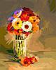 Картина по номерам 40х50 Герберы в вазе (GX23437)