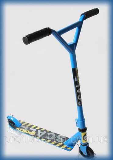 Трюковый самокат для новичков Scale Sports Tornado Синий