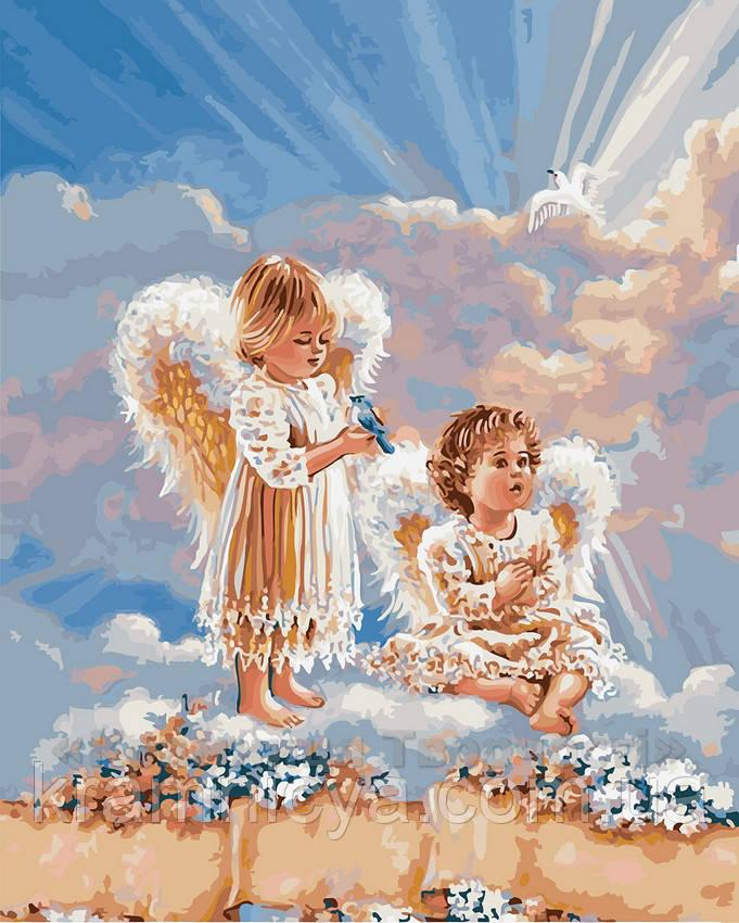 Картина по номерам 40х50 Ангелочки (GX21565)