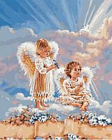 Картина по номерам 40х50 Ангелочки (GX21565), фото 1