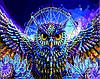 Картина по номерам 40х50 Мистическая сова (GX5299)