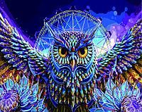 Картина по номерам 40х50 Мистическая сова (GX5299), фото 1