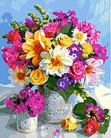 Картина по номерам 40х50 Роскошный букет (GX5546), фото 1