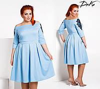 Нарядное женское платье в размерах 42-56, фото 1