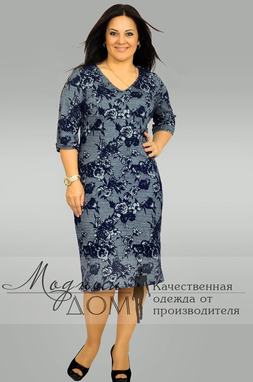 Женское платье (50-56) №1204