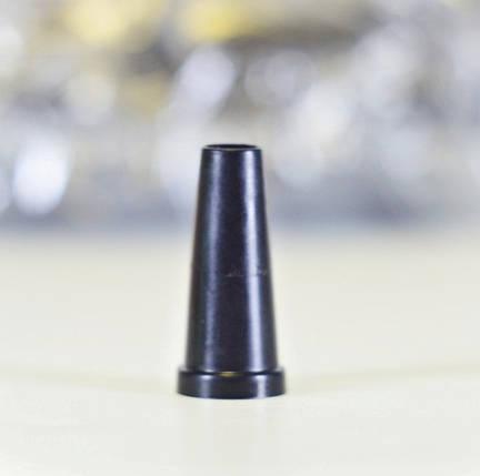 Одноразові Мундштуки чорні(Конус з бортом), фото 2
