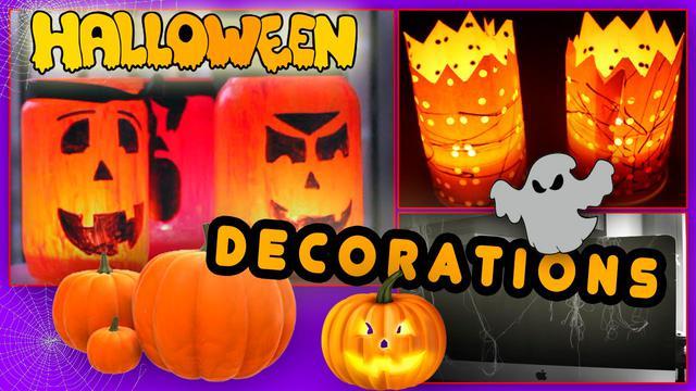 Декорации на хеллоуин halloween