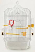 Клетка для мелких птиц Ferplast Regina white  (d32,5 x 49 cm)