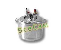 Автоклав бытовой из нержавейки «Гуд-8» (7 литровых/8 пол литровых банок)