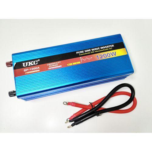 🔥✅ Преобразователь с чистой синусоидой AC/DC 12v 1200W авто инвертор