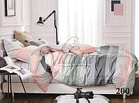 Хлопковое постельное белье из сатина вилюта  семья 200