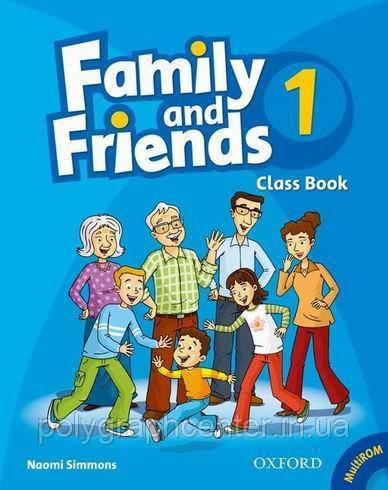 Family and Friends 1,2,3,4,5,6 (комплект CB+WB) Цветная Копия