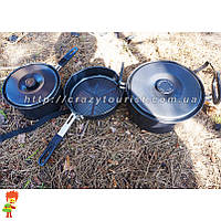 Набор туристической посуды 3 в 1 Milicamp AL 374
