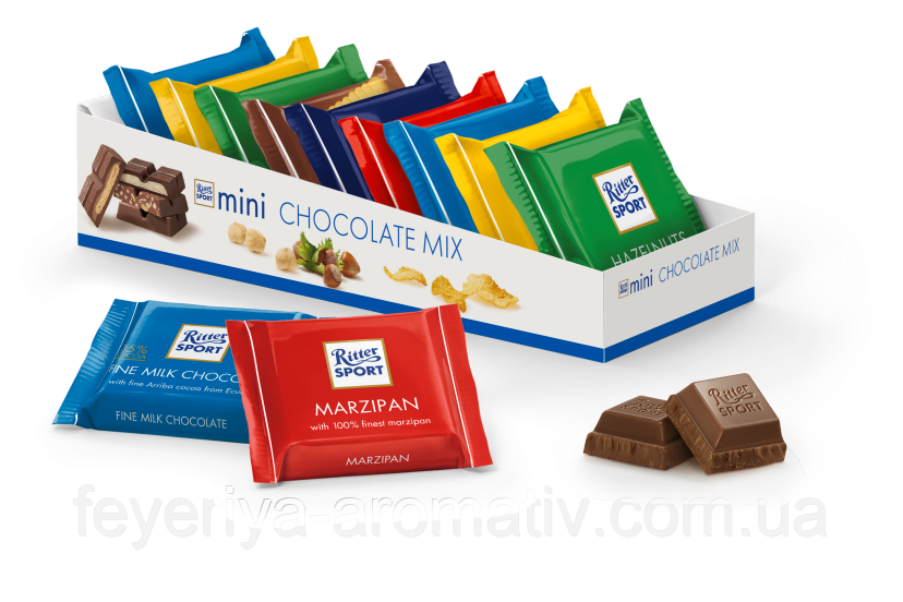 Набор мини шоколадок ассорти Ritter Sport Mini Chocolate Mix (Германия)