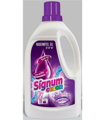 Гель для стирки Signum color 1,5л Польша