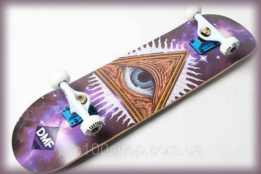 Скейтборд деревянный от Fish Skateboard Масон канадский клен