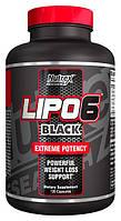 Жиросжигатель Nutrex lipo-6 black ,120 капс